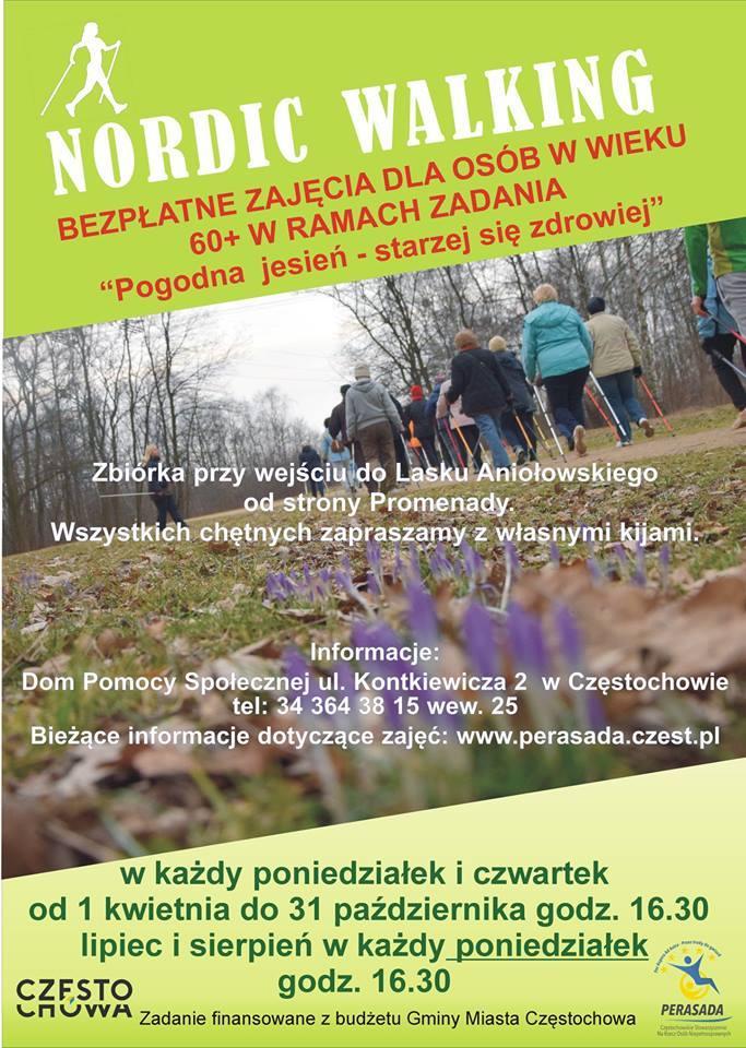 Nordic Walking, zajęcia dla Seniorów