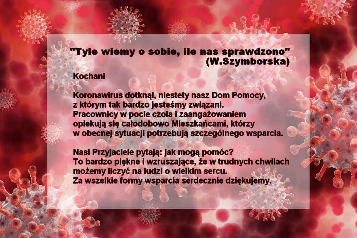 koronawirus pod mikroskopem